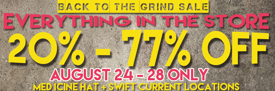 BACK TO THE GRIND SALE